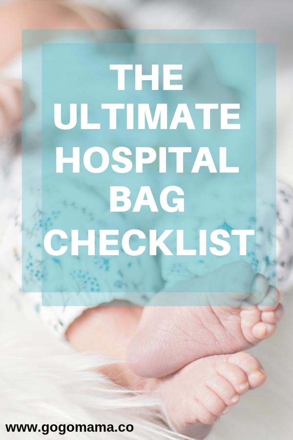 ultimate hospital bag checklist