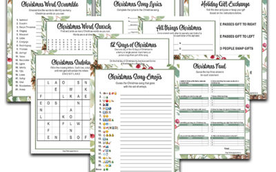 Christmas Activity Printable Bundle