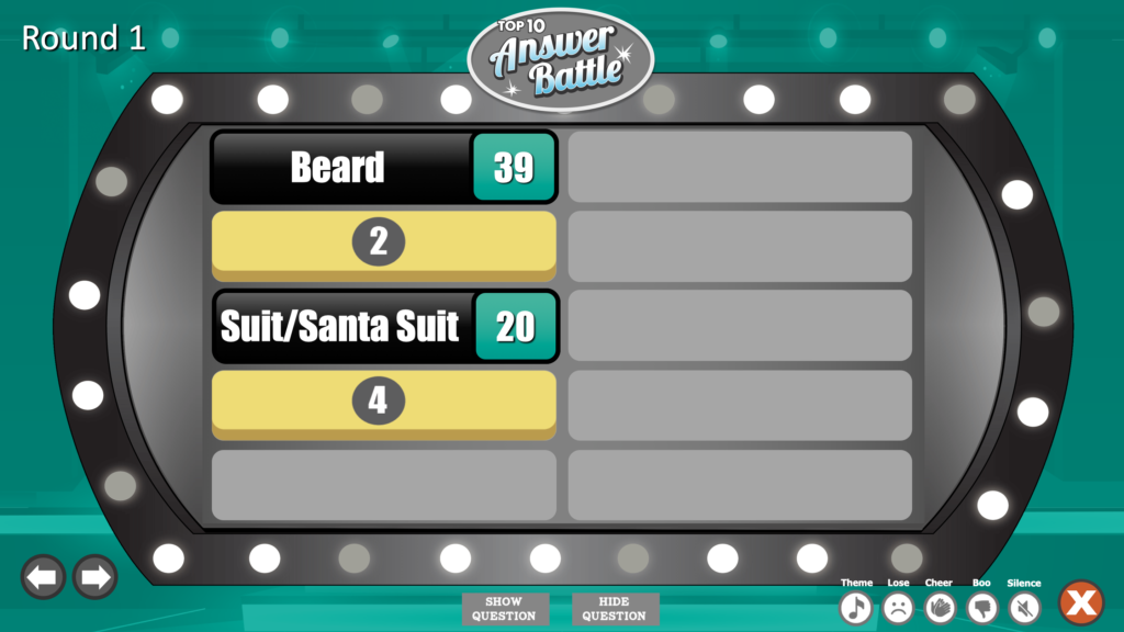 Christmas Feud PowerPoint Image