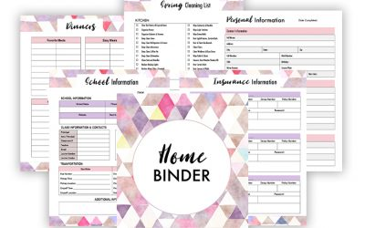 Implementing a Home Binder Saved My Sanity