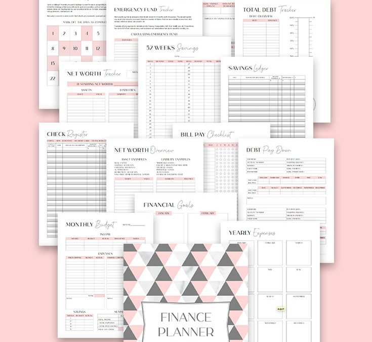 The DIY Finance Planner Printable